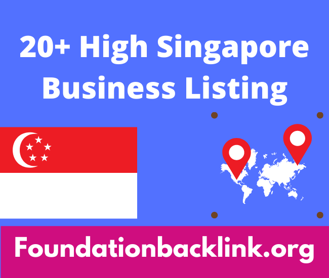 Free Singapore Business Listing Sites