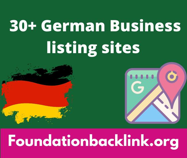 German Free Business Listing Sites