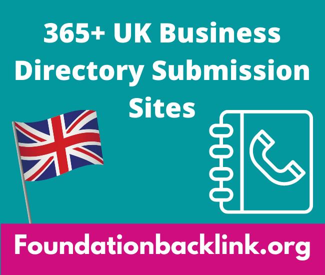 365+ Active UK Business Directory Sites 2021, Local Citation