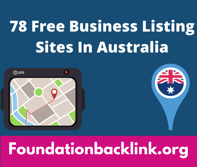 Free Business Listing Sites In Australia